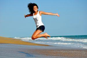 gesund, fit, glücklich